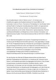 """Umweltbundesamt gründet Forum """"Fischschutz & Fischabstieg"""""""