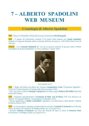 7 – ALBERTO SPADOLINI WEB MUSEUM