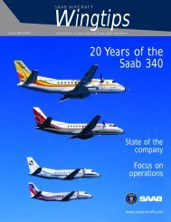 Read or download this Customer Magazine - Saab Aircraft Leasing