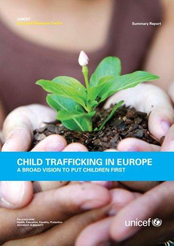 Child Trafficking in Europe