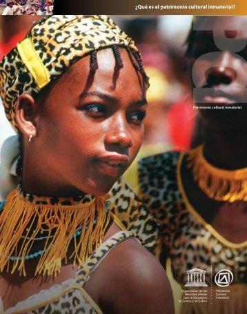 Que es el patrimonio cultural inmaterial - Unesco