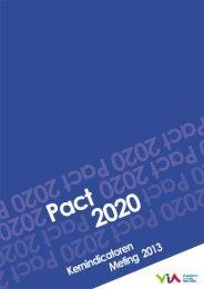 Pact 2020 - Meting kernindicatoren 2013 - Vlaanderen.be