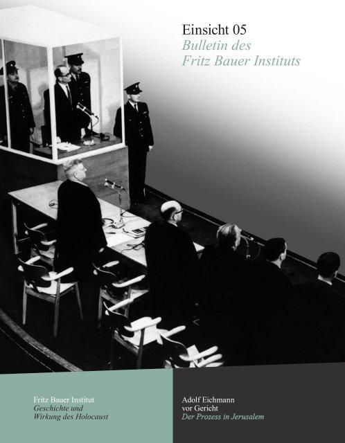 Einsicht 05 - Fritz Bauer Institut