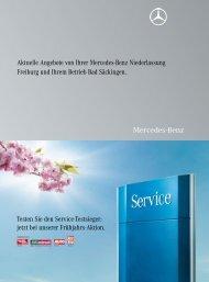 Aktuelle Angebote von Ihrer Mercedes-Benz Niederlassung ...