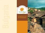 Le tourisme rural et l'écotourisme