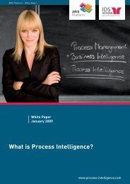 Process Intelligence White Paper - IDS Scheer AG