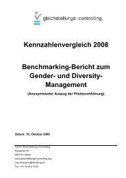 Management - Gleichstellungs-Controlling