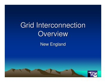 Grid Interconnection Overview