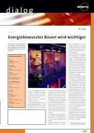 Dialog 3/2006 - elero Antriebstechnik