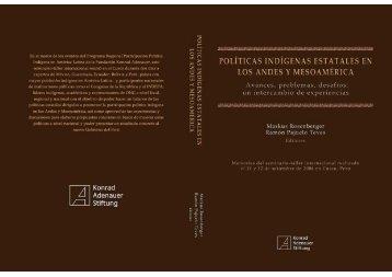 Políticas Indígenas Estatales en los Andes y ... - Cholonautas