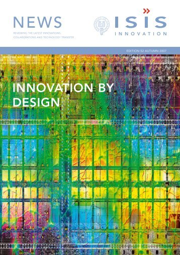 InnovatIon by DesIgn - Isis Innovation