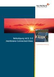 Systembeschreibung Befestigung MCG 3.0 - Sunova