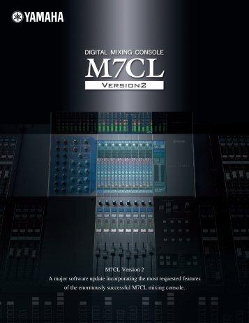 M7CL V2 Datasheet 1.1MB - Yamaha Commercial Audio