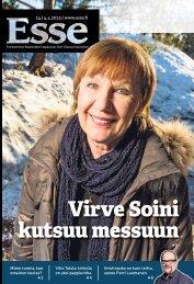 Esse 14/2013 (pdf) - Espoon seurakuntasanomat