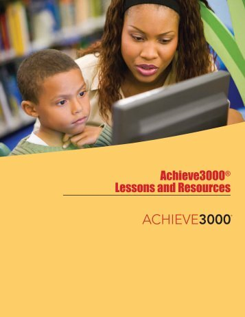 Achieve3000® Lessons and Resources
