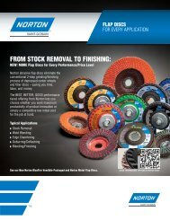 Flap Discs - Norton Line - Brochure 8392