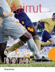 Bitka za talente - UniCredit Banka Slovenija dd