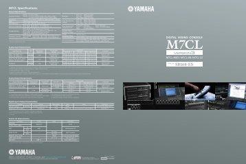 Yamaha M7CL-48ES_M7CL-48_M7CL-32 - Full Compass