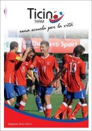 Depliant 2012-2013 - Ticino Team