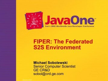 FIPER: The Federated S2S Services in Environment - sorcer