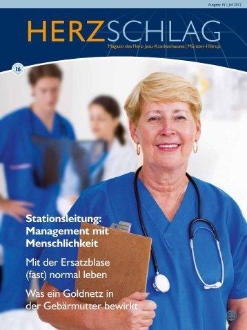 16 Stationsleitung: Management mit ... - Herz-Jesu-Krankenhaus