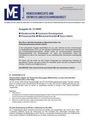 Newsletter 1/2009 - Ludwig Boltzmann Institut für Menschenrechte