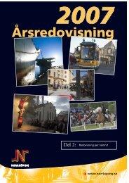 Årsredovisning 2007 - del 2 - Norrköpings kommun