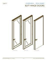 BUTT HINGE DOORS - DIRTT Environmental Solutions