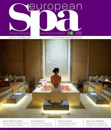 European Spa - April 2011 - Wuttke Group LLC