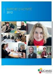 Rapport d'activité 2012 - Ucanss