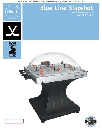 SlapShot Dome Hockey Table Brochure - BMI Gaming