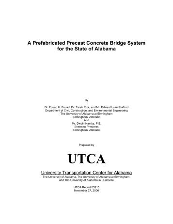 A Prefabricated Precast Concrete Bridge System for the State of ...