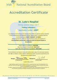 St Lukes Hospital - INAB
