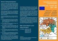 Informationsfolder Österreich - Raumplanung Steiermark
