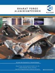 Bharat Forge Aluminiumtechnik - Agentur FreyGeist