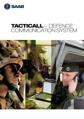 TactiCall Defence brochure - Saab