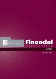 Financial Stability Report 2009 (PDF) - Central Bank of Trinidad and ...