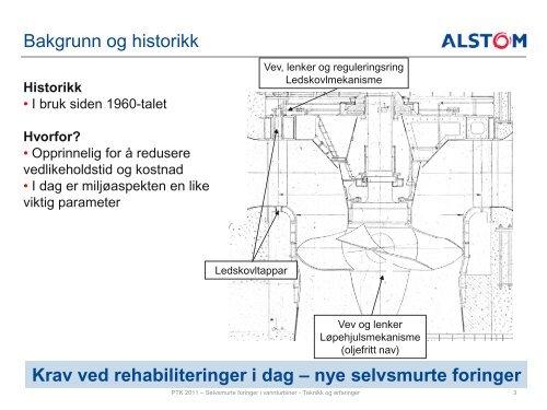 Selvsmurte foringer i vannturbiner - Energi Norge