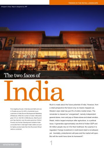 The Two Faces Of India - the Echochamber