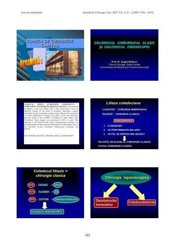 PDF Format - Jurnalul de Chirurgie