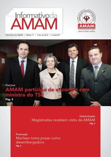 AMAM participa de encontro com ministra do TSE