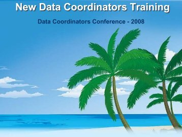 New Data Coordinators Training - Texas Juvenile Justice Department