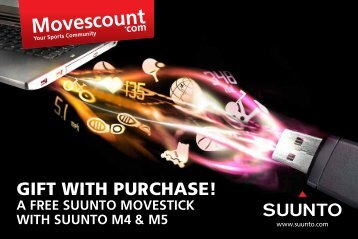 GIFT WITH PURCHASE! - Suunto