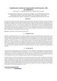 Cepheid observations by long-baseline interferometry with FLUOR ...