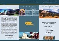 Ausschreibung Assisireise.cdr - Tobit-Reisen