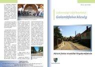 Galambfalva község - Hargita Megye Tanácsa