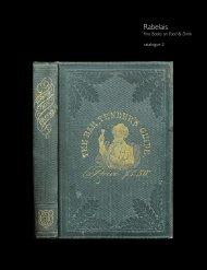 Fine Books on Food & Drink - Rabelais