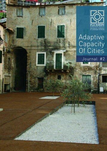 Adaptive Capacity Of Cities - Jana Milosovicova - Urban Design ...