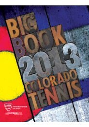 2013 Big Book of Colorado Tennis and Sanctioned Tournament ...