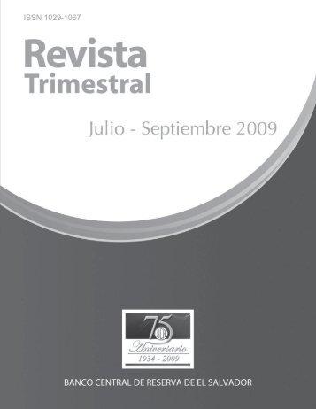 Banco Central de Reserva de El Salvador - Universidad de El ...